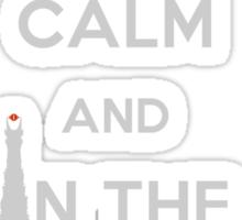 Keep Calm and Bind Them Sticker
