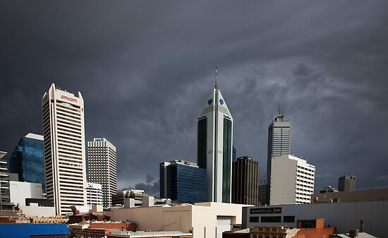 Cloud Cover - Perth by Mark Ingram