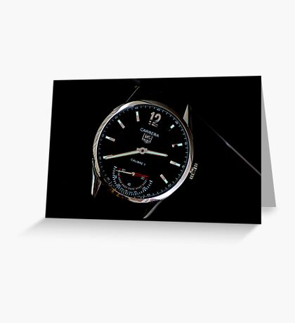 Tag Heuer 1. Greeting Card