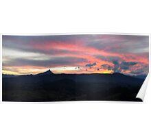 Mt Warning Angel Cloud Poster
