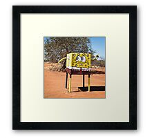 Bush Humour Framed Print