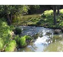 A creek in the country Photographic Print