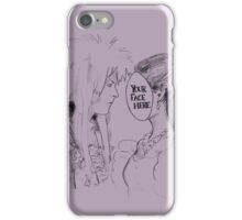 Your Face Here, Bowie (no background) iPhone Case/Skin