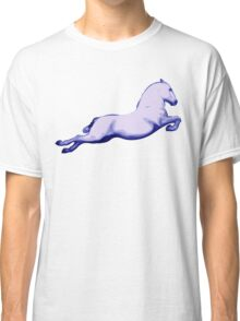 Lipanzanna Stallion in Capriole Blue Classic T-Shirt