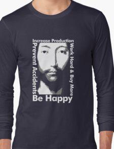 OMM 0000 THX -1138 Be Happy Long Sleeve T-Shirt