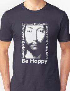 OMM 0000 THX -1138 Be Happy T-Shirt