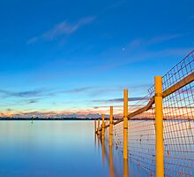 Into the Deep - Raby Bay Qld Australia by Beth  Wode