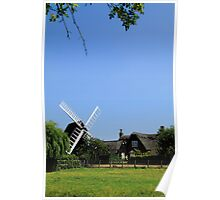 Bourn Mill Poster
