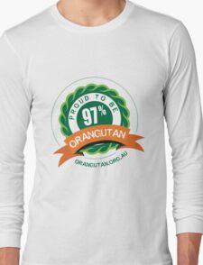 Proud to be 97% Orangutan Long Sleeve T-Shirt