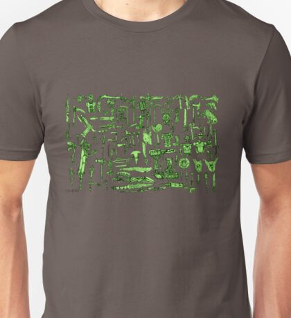 Weapons and Armor Unisex T-Shirt