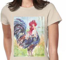 Why did the chicken cross the road? 2 Womens Fitted T-Shirt