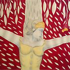 Woman crucified by Rodica  RVM-ART