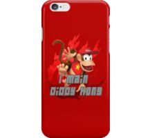 I MAIN DIDDY KONG iPhone Case/Skin