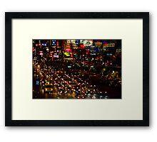 Vegas 6 Framed Print