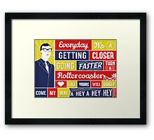 Everyday - Buddy Holly Framed Print