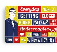 Everyday - Buddy Holly Canvas Print