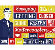 Everyday - Buddy Holly Photographic Print