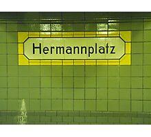 Hermannplatz Photographic Print