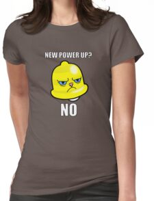 Grumpy Cat Bell Womens Fitted T-Shirt