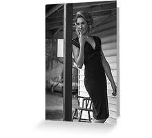Jessica White Greeting Card