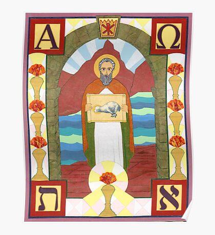 St. John the Divine Icon Poster