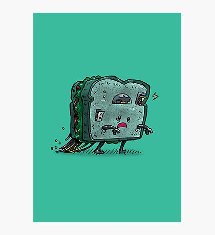 Moldy Sandwich Bot Photographic Print