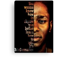Mos Def Mathematics Canvas Print