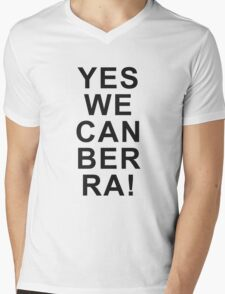 Yes We Can Ber Ra! Mens V-Neck T-Shirt