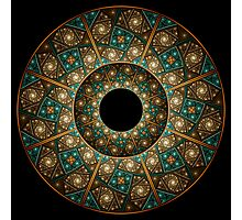 Wheel of Illusions II Photographic Print