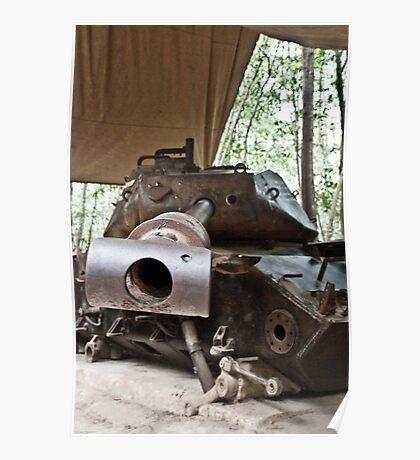 American Tank Poster