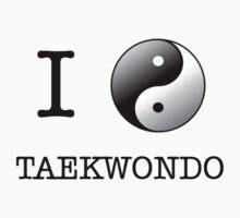 I love taekwodo by VirtualMan