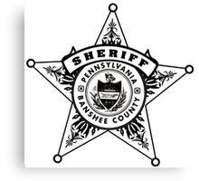 Banshee Sheriff Canvas Print