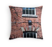 wire and branches Throw Pillow