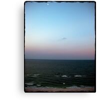 Moonlit Gulf  Canvas Print