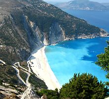 The road to Myrtos by Maria1606