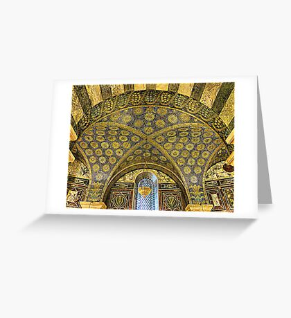 Aachen Cathedral. Greeting Card