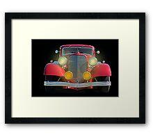 1934 Lincoln Vicky Framed Print
