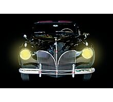 1941 Lincoln Convertible  Photographic Print