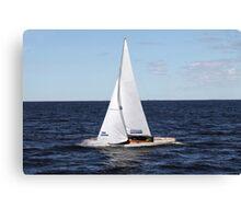 sailing race Canvas Print