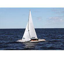 sailing race Photographic Print