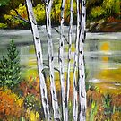 THINKING OF FALL by Pamela Plante
