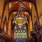 USA. Massachusetts. Cambridge. Harvard University. Memorial Hall. Interior. by vadim19