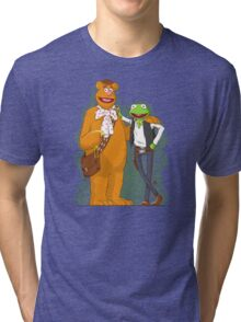 han the frog and fozzy the wookie Tri-blend T-Shirt