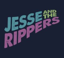 Jesse and the Rippers Concert Tee Shirt One Piece - Short Sleeve