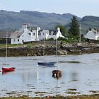 Calm day in Plockton by Claudia Dingle