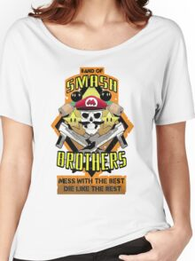 Band of Smash Brothers Women's Relaxed Fit T-Shirt