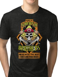 Band of Smash Brothers Tri-blend T-Shirt
