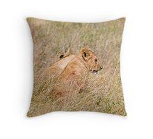Lion cub Throw Pillow