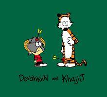 Dovahkiin and Khajiit Unisex T-Shirt