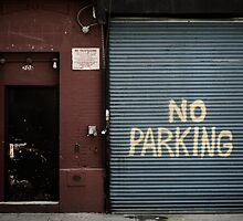 No Parking by Jasper Smits